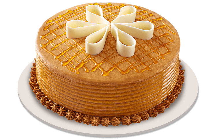 Caramelt With You Cake By Red Ribbon Buy Online To Angeles City And
