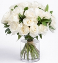 online white roses to angelescity
