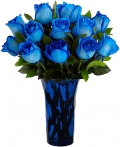online blue roses to angelescity