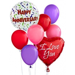 buy anniversary balloon bouquet