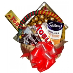 espress assorted chocolate lover basket to angeles city