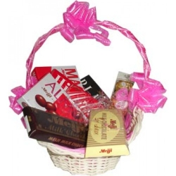 basket of chocolates send to angeles city
