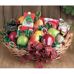 Christmas Fruits Basket Send to Angeles City