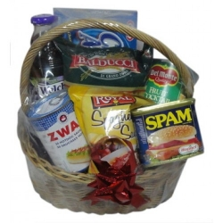 Xmas Gifts Basket Send to Angeles City