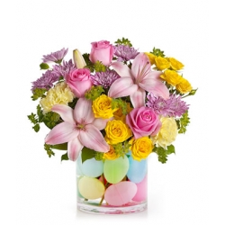 Eggcellent Pastel Bouquet to Angeles City