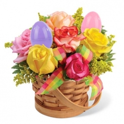 Easter Egg Bouquets to Angeles City