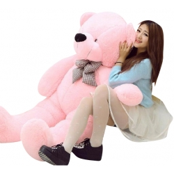 send big pink giant bear to angelescity
