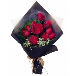 ​1 dozen roses bouquet in angeles city