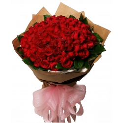 48 red roses bouquet angeles city