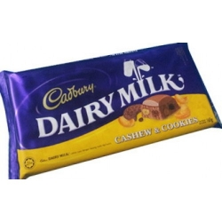 Cadbury: Dairy Milk Cashew & Cookies send to angeles city philippines