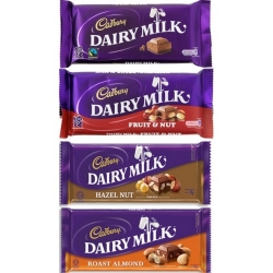 Cadbury Dairy Milk Assorted Bars send to angeles city philippines