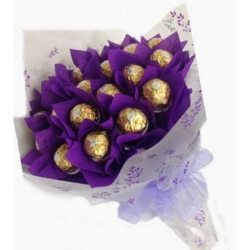 16 Ferrero Bouquet send to angeles city philippines
