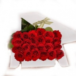 ​24 Red rose in a Box Delivery Area: Angeles City & Nationwide in Philippines.
