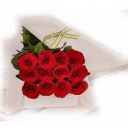 12 Red Roses in a Box Send To Angeles City Philippines