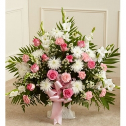 Flamingo Sympathy Basket