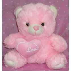 Pink Bear send to angeles city philippines