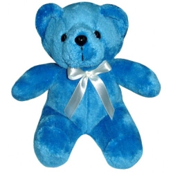Blue Color Teddy Bear send to angeles city philippines