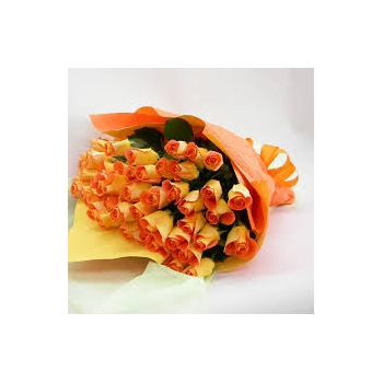 ​24 Orange Roses in a Bouquet send to angeles city philippines