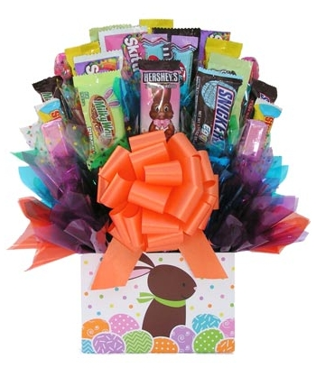 Easter Candy Bar Bouquet to Angeles City